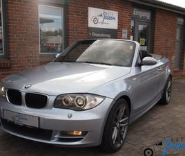 BMW BMW 1 CABRIO 118I XENON/PDC/LEDER/KLIMAAUT.