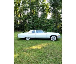 FOR SALE: 1976 CADILLAC COUPE DEVILLE IN HUGHESVILLE, MARYLAND