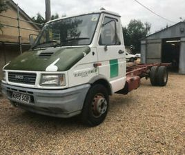 IVECO TURBO DAILY MK 2 59.12 CHASSIS CAB 2.5TD CLASSIC