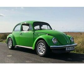 1974 VW BEETLE 1300CC - GREEN - MANUAL