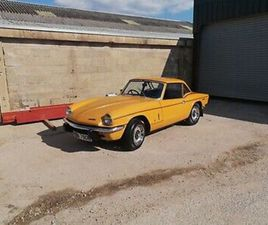1972 TRIUMPH SPITFIRE MK1V IN VGC EXTREMELY LOW MILAGE