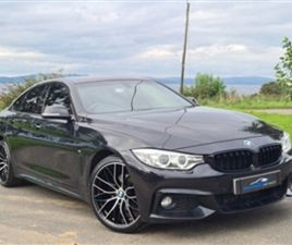 USED 2015 BMW 4 SERIES 2.0 420D M SPORT GRAN COUPE 4D 188 BHP COUPE 94,000 MILES IN BLACK
