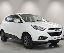 USED 2015 HYUNDAI IX35 1.6 GDI S 5DR 2WD NOT SPECIFIED 47,156 MILES IN WHITE FOR SALE | CA