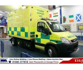 2012 - 61 - IVECO DAILY 70C17 LIMITED 3.0HPI MWB ROLL ON ROLL OFF INCIDENT UNIT