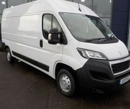 PEUGEOT BOXER 335 L3 H2 2.2 BLUE HDI 1 FOR SALE IN KERRY FOR €30,950 ON DONEDEAL