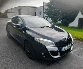 10 RENAULT MEGANE 1.5DCI NCT 1/22 TAX LOW MILEAGE FOR SALE IN DUBLIN FOR €2,750 ON DONEDEA
