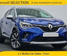 RENAULT CAPTUR S-EDITION 1.5 BLUE DCI 115BHP AUTO FOR SALE IN MAYO FOR €28,950 ON DONEDEAL