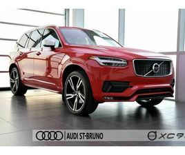 2017 VOLVO XC90 T6 + R-DESIGN + ROUGE PASSION   CARS & TRUCKS   LONGUEUIL / SOUTH SHORE  