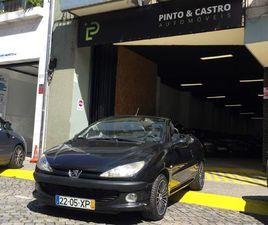 PEUGEOT 206 CC 1.6 A GASOLINA NA AUTO COMPRA E VENDA