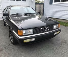 1987 AUDI COUPE GT EXCELLENT CONDITION   CARS & TRUCKS   DARTMOUTH   KIJIJI