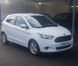 USED 2016 (66) FORD KA+ 1.2 ZETEC 5DR IN CLYDEBANK