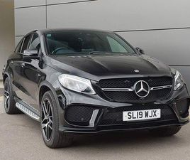 MERCEDES-BENZ GLE CLASS 3.0 GLE43 AMG NIGHT EDITION G-TRONIC+ 4MATIC (S/S) 5DR