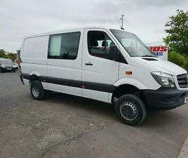 2016 16 PLATE MERCEDES SPRINTER 516 CDI 4X4 MWB CREW SUPER LOW MILES ONLY 14K
