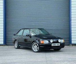 1990 FORD ESCORT 1.6 RS TURBO 3D 132 BHP HATCHBACK PETROL MANUAL