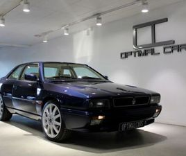MASERATI 2.8 V6 284HK MANUAL COLLECTOR CAR *LOW KM*