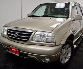 USED 2002 SUZUKI XL7 4WD