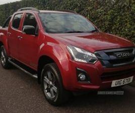 USED 2018 ISUZU D-MAX DIESEL NOT SPECIFIED 49,000 MILES IN RED FOR SALE | CARSITE