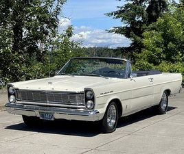 1965 FORD GALAXIE 500 CONVERTIBLE Z-CODE