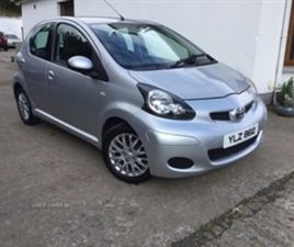 USED 2010 TOYOTA AYGO HATCHBACK SPECIAL EDITION HATCHBACK 88,000 MILES IN SILVER FOR SALE