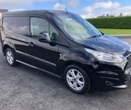 USED 2018 FORD TRANSIT CONNECT 200 L1 DIESEL NOT SPECIFIED 50,000 MILES IN BLACK FOR SALE