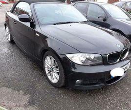 BMW 1 SERIES CONVERTIBLE E88 2.0 118D SPORT 2DR 2010