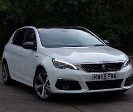 USED 2020 (69) PEUGEOT 308 1.2 PURETECH 130 GT LINE 5DR IN MILNGAVIE