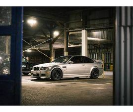2003 BMW M3 E46 6 SPEED MANUAL SILVER AND RED INTERIOR