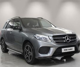 MERCEDES-BENZ GLE GLE 250D 4MATIC AMG NIGHT EDITION 5DR 9G-TRONIC