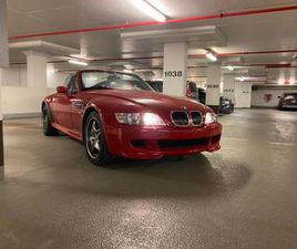BMW Z3 M ROADSTER S54 WITH ONLY 36KM