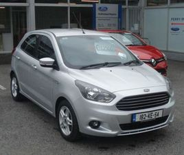 FORD KA ZETEC 1.2 85PS 5SPEED 4DR FOR SALE IN KILDARE FOR €12,500 ON DONEDEAL