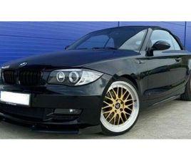BMW 120I CABRIO*BLICKFÄNGER*LEDER-ANGLE EYES-SHZ-PDC