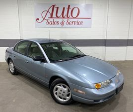 BLUE COLOR 2002 SATURN S-SERIES SL SL2 FOR SALE IN INDIANAPOLIS, IN 46218. VIN IS 1G8ZK527