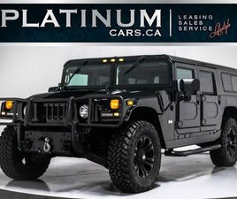 2006 HUMMER H1 ALPHA WAGON, DURAMAX DIESEL, LEATHER, XD WHEEL   CARS & TRUCKS   CITY OF TO