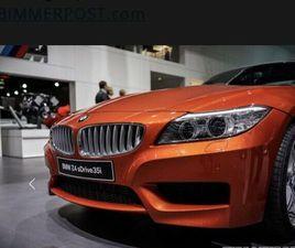 ICH SUCHE: BMW Z4 3.5IS 340 PS VALENCIA ORANGE BIS 55TKM