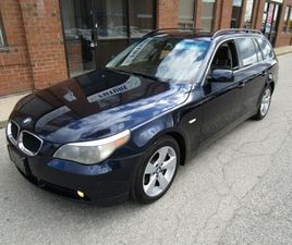 2006 BMW 5 SERIES 530XI ***WAGON   LEATHER   PANO ROOF***   CARS & TRUCKS   MISSISSAUGA /