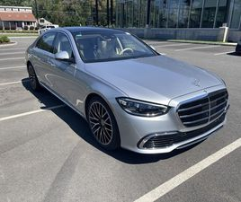 BRAND NEW SILVER COLOR 2021 MERCEDES-BENZ S-CLASS S 580 4MATIC FOR SALE IN WEST CALDWELL,
