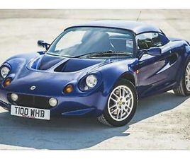 LOTUS ELISE - ONE LOVING OWNER FROM NEW - 21,500 MILES