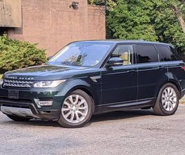 USED 2017 LAND ROVER RANGE ROVER SPORT HSE