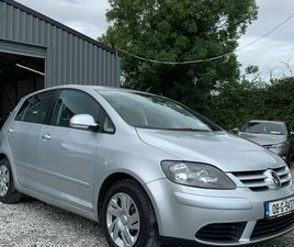 VW GOLF PLUS 1.9TDI LUNA..NEW NCT FOR SALE IN DUBLIN FOR €2,499 ON DONEDEAL