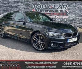 USED 2018 BMW 4 SERIES 420D 2.0 190BHP M SPORT GRAN COUPE STEP AUTO COUPE 44,000 MILES IN