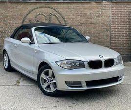 BMW 118I ESSENCE CABRIOLET EURO 5 PRÊTE À IMMATRICULER CUIR