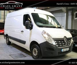 RENAULT MASTER FWD MM33 DCI 110 BUSINESS / IRISH FOR SALE IN DUBLIN FOR €11,747 ON DONEDEA
