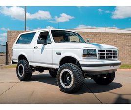 FOR SALE: 1996 FORD BRONCO IN CARROLLTON, TEXAS