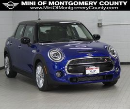 BLUE COLOR 2021 MINI COOPER HARDTOP S FOR SALE IN GAITHERSBURG, MD 20879. VIN IS WMWXU9C00