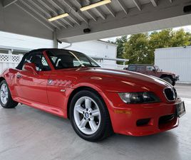 RED COLOR 2000 BMW Z3 2.3 FOR SALE IN PASADENA, MD 21122. VIN IS 4USCH9340YLG04437. MILEAG