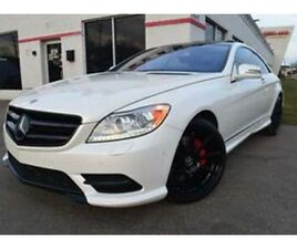 2014 MERCEDES-BENZ CL-CLASS CL550 4MATIC AWD NAVI PEARL WHITE COUPE