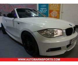 2012 BMW 1 SERIES 2.0 123D SPORT PLUS EDITION 2D 202 BHP HOT BLACK LEATHER, 18 I