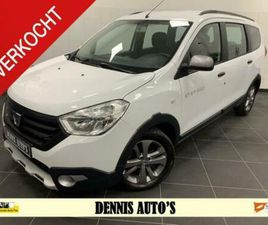 DACIA LODGY 1.2 TCE STEPWAY LUXE UITVOERING!
