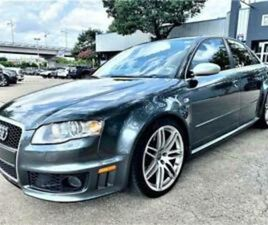 2007 AUDI RS4 4.2L V8 6 SPEED MANUAL, RARE FIND, GREAT SHAPE