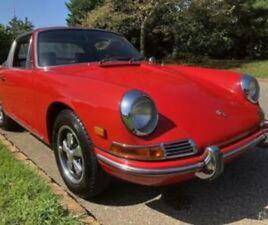 1968 PORSCHE 912 TARGA